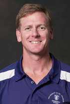 Swimming and diving coach Scott Blanchard helped lead the Tommie women claim their first-ever conference title Saturday. (Photo courtesy of University Relations)