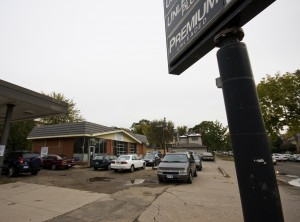 Building plans for this abandoned lot on Cleveland and Grand avenues have been pulled. (Marc Lane/TommieMedia)