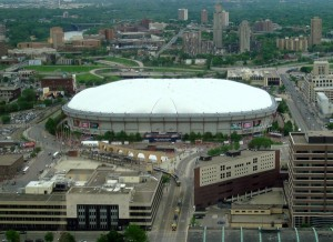 <p>Without a sold-out Metrodome, the Vikings face their first blacked-out games since 1997. (CityPages/Wiki)</p>