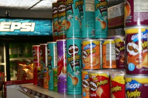 The C-Store doesn't carry the flavor of Pringles recalled. (Patrick Stumpf/TommieMedia)