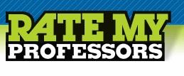 <p>Courtesy of: Ratemyprofessors.com</p>