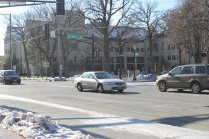 Ice and snow create driving concerns for St. Thomas students traveling over Thanksgiving break. (Cynthia Johnson/TommieMedia)