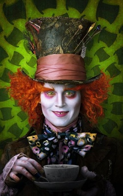 "<p>With the help of 3-D living room televisions, Johnny Depp's ""Alice in Wonderland"" can have the same affect whether in the movie theatre or at home. (AP Photo/Disney)</p>"